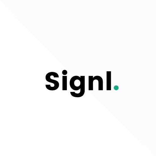 Signl 👨🏻💻