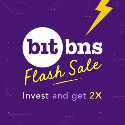 Bitbns (No, not giving away ETH)