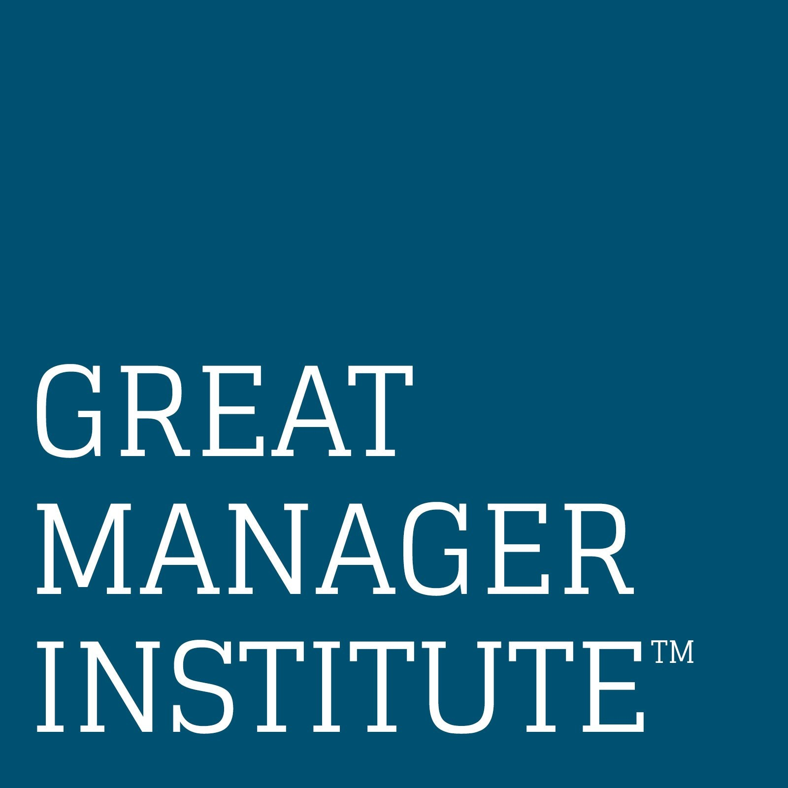 Great Manager Institute™