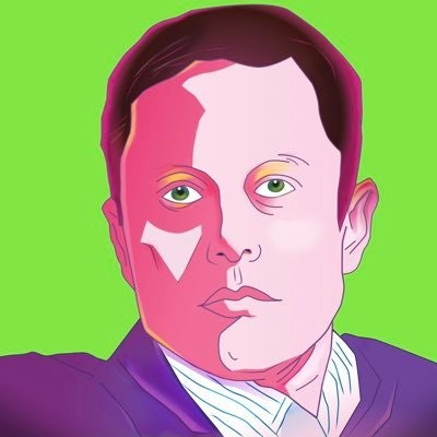 Bored Elon Musk
