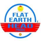 Flat Earth Head