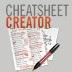 Cheatsheet Creator
