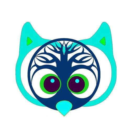 Digital Psychology Owl