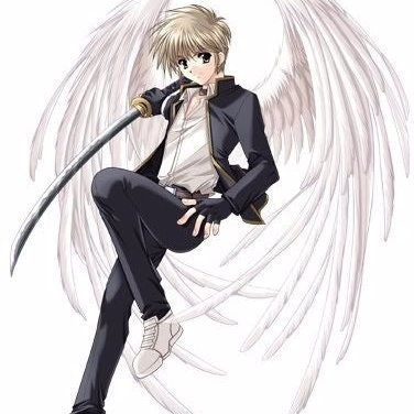 Boy with Silver Wings