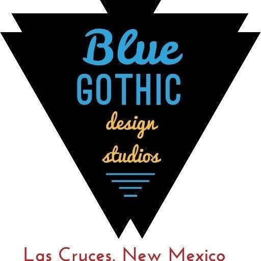 Blue Gothic Design