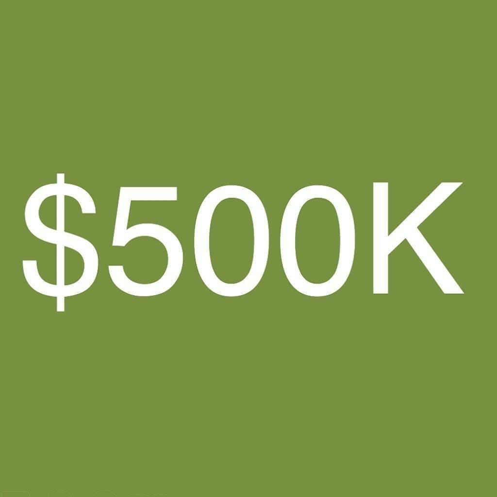 $500K
